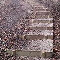 Steps at Rossmill